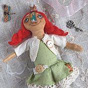 Куклы и игрушки ручной работы. Ярмарка Мастеров - ручная работа Примитивная кукла Чердачная Принцесска. Handmade.