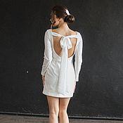 Свадебный салон handmade. Livemaster - original item Mini dress for painting. Handmade.