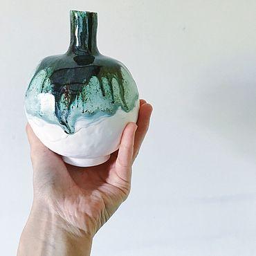Для дома и интерьера ручной работы. Ярмарка Мастеров - ручная работа Ваза керамическая. Handmade.