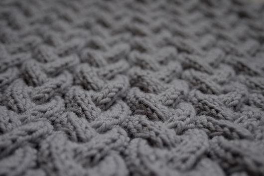 """Шали, палантины ручной работы. Ярмарка Мастеров - ручная работа. Купить Снуд (шарф, хомут) из чистой мериносовой шерсти """"Небо зимы"""". Handmade."""