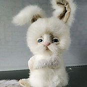 Для дома и интерьера handmade. Livemaster - original item Bunny plush. Handmade.