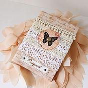 Канцелярские товары handmade. Livemaster - original item Passport cover and/or avtodokumentov