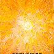 Картины и панно ручной работы. Ярмарка Мастеров - ручная работа Солнце. Handmade.