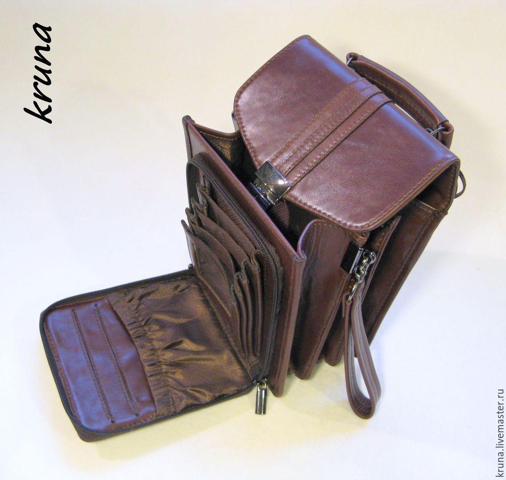 51368ff6fd86 Мужская сумка-барсетка под документы из натуральной кожи - 1 ...