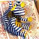 """Игрушки животные, ручной работы. кот """"Парижанин"""". Светлана (Setinka). Интернет-магазин Ярмарка Мастеров. Полосатый кот, француз"""