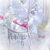 Свадебный салон ручной работы. Ярмарка Мастеров - ручная работа Подушечка для колец Аллея любви. Handmade.