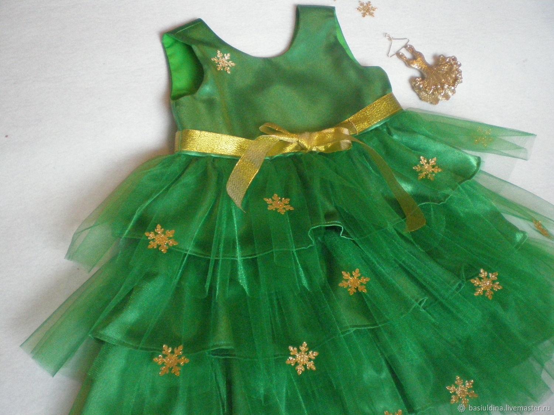 Схема платья елочки