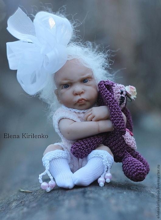 Куклы-младенцы и reborn ручной работы. Ярмарка Мастеров - ручная работа. Купить Жадина. Handmade. Розовый, зайчик игрушка
