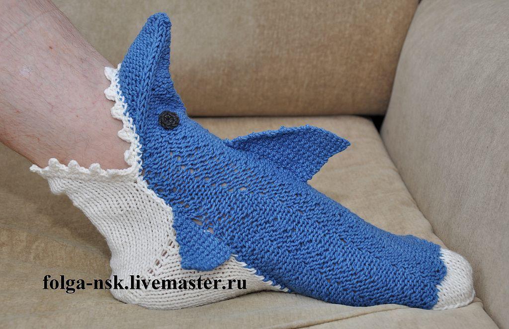 """Носки-акулы """"Приятного"""
