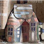 Сумки и аксессуары handmade. Livemaster - original item Japanese backpack City. Handmade.