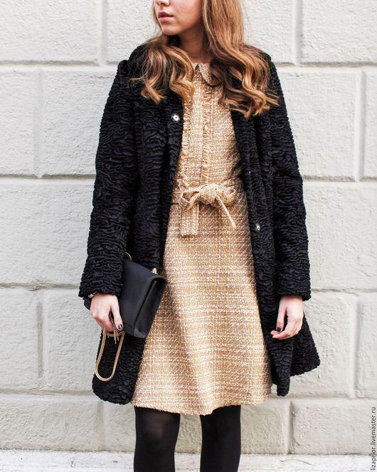 Пальто под черный каракуль Lisa Prior