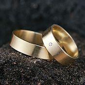 Свадебный салон ручной работы. Ярмарка Мастеров - ручная работа Золотые обручальные кольца. Handmade.