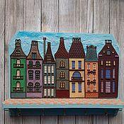 Для дома и интерьера handmade. Livemaster - original item The Housekeeper Amsterdam 2. The housekeeper wall.. Handmade.