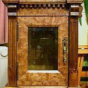Для дома и интерьера ручной работы. Ярмарка Мастеров - ручная работа Маленький подвесной (аптечный?) шкафчик. Handmade.