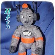 Куклы и игрушки handmade. Livemaster - original item Robot. Handmade.