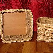 Для дома и интерьера ручной работы. Ярмарка Мастеров - ручная работа Коробочка для хранения мелочей из лозы. Handmade.