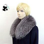 Аксессуары handmade. Livemaster - original item Removable fur collar Fox fur. Art. TK-336. Handmade.