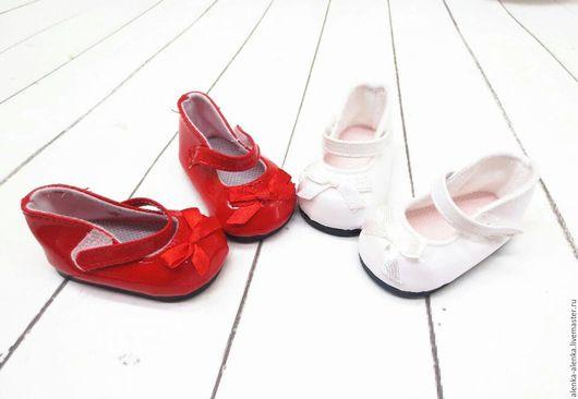Человечки ручной работы. Ярмарка Мастеров - ручная работа. Купить Туфельки для кукол. Handmade. Комбинированный, миниатюрная обувь, обувь для игрушек