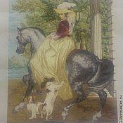 Картины и панно ручной работы. Ярмарка Мастеров - ручная работа Утренняя прогулка. Handmade.