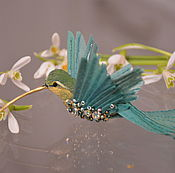 Материалы для творчества handmade. Livemaster - original item Hummingbird butterfly. Handmade.