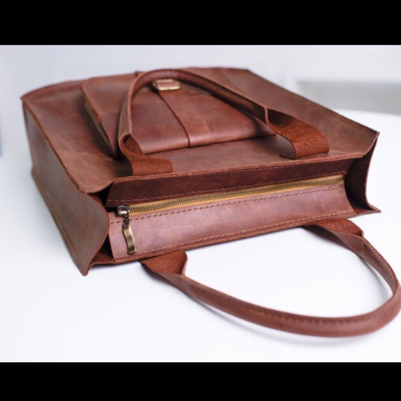 Women's brown leather bag SORA, Classic Bag, St. Petersburg,  Фото №1
