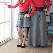Одежда ручной работы. Ярмарка Мастеров - ручная работа Элегантная юбка в пол. Handmade.