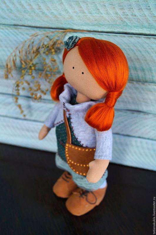 Коллекционные куклы ручной работы. Ярмарка Мастеров - ручная работа. Купить Текстильная кукла. Handmade. Рыжий, текстильная кукла