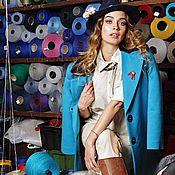 Одежда ручной работы. Ярмарка Мастеров - ручная работа Кашемировое пальто. Handmade.