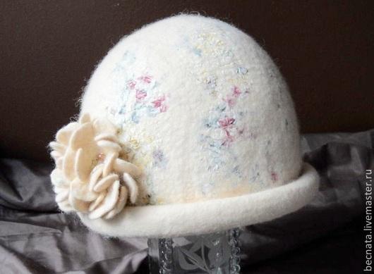 """Шляпы ручной работы. Ярмарка Мастеров - ручная работа. Купить Шляпка женская. Шапка женская шерстяная Вкус шампанского..."""". Handmade."""