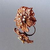 Украшения handmade. Livemaster - original item flower ring. Handmade.