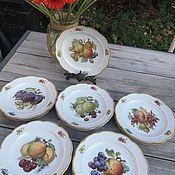 Винтаж handmade. Livemaster - original item Set of plates