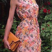 Одежда ручной работы. Ярмарка Мастеров - ручная работа Летнее шелковое платье. Handmade.