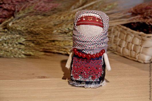 Народные куклы ручной работы. Ярмарка Мастеров - ручная работа. Купить Обережная кукла КРУПЕНИЧКА-ЗЕРНОВУШКА. Handmade. Комбинированный, крупеничка