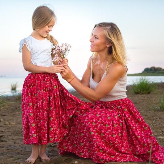 """Одежда для девочек, ручной работы. Ярмарка Мастеров - ручная работа. Купить Юбочка """"Малинки"""". Handmade. Розовый, юбка, необычный, вкусно"""