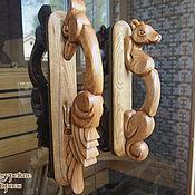 Для дома и интерьера ручной работы. Ярмарка Мастеров - ручная работа Деревянные ручки для дверей. Handmade.