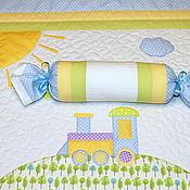 Для дома и интерьера ручной работы. Ярмарка Мастеров - ручная работа Детский комплект  Паровозик. Handmade.