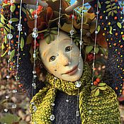 """Куклы и игрушки ручной работы. Ярмарка Мастеров - ручная работа """"Дождик Осенний"""". Handmade."""