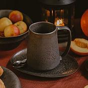 Посуда handmade. Livemaster - original item Mugs and cups: Handmade mug 400 ml. Handmade.
