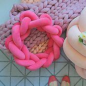 """Для дома и интерьера ручной работы. Ярмарка Мастеров - ручная работа Подушка-узел """"Ring"""" (Кольцо). Handmade."""