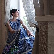 """Одежда ручной работы. Ярмарка Мастеров - ручная работа Платье""""Ванильное небо"""". Handmade."""