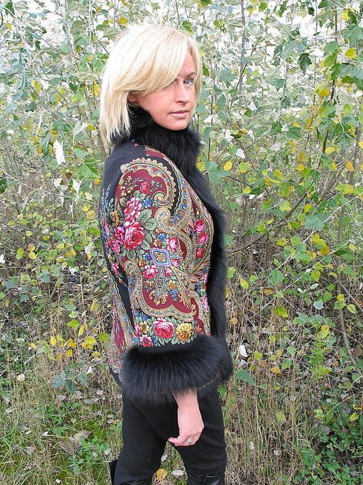 """Верхняя одежда ручной работы. Ярмарка Мастеров - ручная работа. Купить Куртка """" Русские узоры - 6 """". Handmade."""