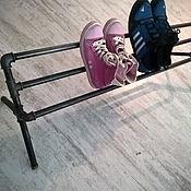 Для дома и интерьера ручной работы. Ярмарка Мастеров - ручная работа Полка для обуви, книг лофт. Handmade.