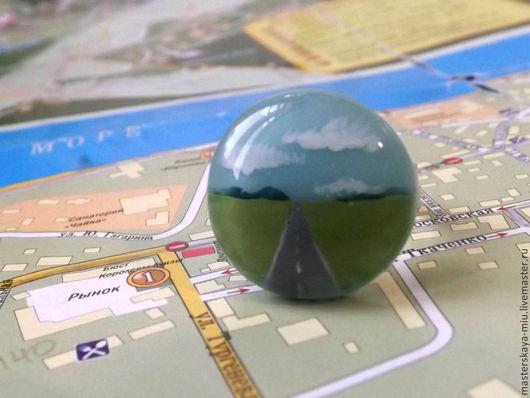 """Кольца ручной работы. Ярмарка Мастеров - ручная работа. Купить кольцо """"Road Trippin' """". Handmade. Дорога, путешествия, шоссе"""