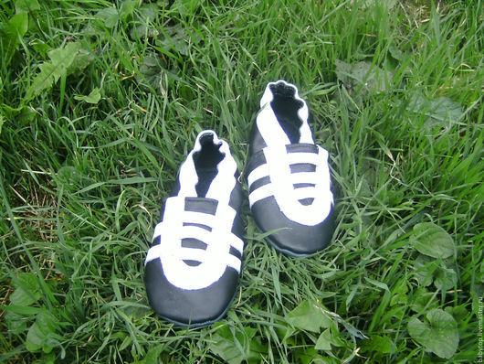 Детские тапочки-чешки `Кроссовки`,домашняя обувь.Наталья  (БЭБИТОП)