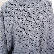 Одежда handmade. Livemaster - original item Poncho: Maxi poncho Comfort and warmth. Handmade.