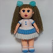 """Куклы и игрушки ручной работы. Ярмарка Мастеров - ручная работа Вязаная кукла """"Настенька"""". Handmade."""