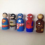 Куклы и игрушки ручной работы. Ярмарка Мастеров - ручная работа Супергерои. Handmade.