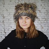 "Caps handmade. Livemaster - original item Шапка валяная ""Шёлк"". Handmade."