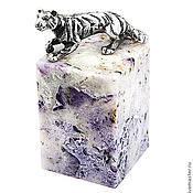 Для дома и интерьера ручной работы. Ярмарка Мастеров - ручная работа Тигр на камне. Handmade.