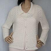Одежда handmade. Livemaster - original item Jacket cashmere-silk-Merino